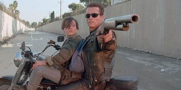 Terminator 2: Judgement Day, Arnold Schwarzenegger, Linda Hamilton